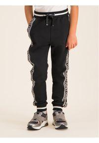 Czarne spodnie dresowe Liu Jo Kids