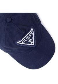 Guess Czapka z daszkiem Used Triangle Cap M1RZ58 WBN60 Granatowy. Kolor: niebieski