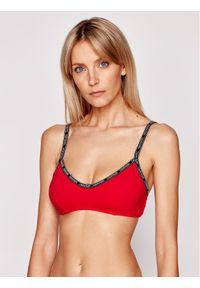 Czerwone góra bikini Calvin Klein Swimwear
