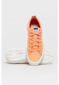 Helly Hansen - Tenisówki Scurry V3. Nosek buta: okrągły. Zapięcie: sznurówki. Kolor: pomarańczowy. Materiał: guma
