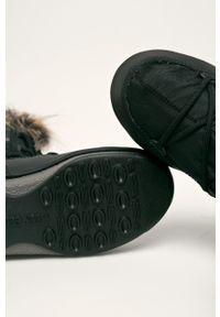 Czarne śniegowce Moon Boot z cholewką, na sznurówki #4