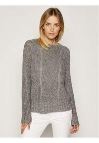 Szary sweter klasyczny Liu Jo