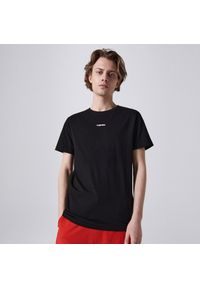Cropp - Koszulka z nadrukiem Cyberpunk 2077 - Czarny. Kolor: czarny. Wzór: nadruk