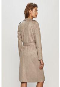 Szary płaszcz Vero Moda klasyczny, bez kaptura #6