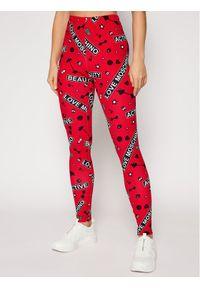 Czerwone legginsy sportowe Love Moschino