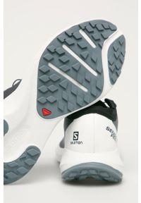 salomon - Salomon - Buty Sense Feel. Nosek buta: okrągły. Zapięcie: sznurówki. Kolor: szary. Materiał: guma