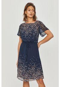 Wielokolorowa sukienka DKNY mini, na co dzień