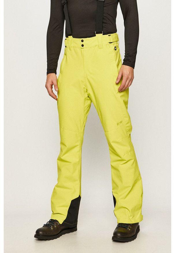 Protest - Spodnie. Okazja: na co dzień. Kolor: zielony. Materiał: materiał. Styl: casual