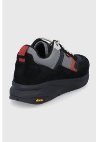 Levi's® - Levi's - Buty. Okazja: na spotkanie biznesowe. Nosek buta: okrągły. Zapięcie: sznurówki. Kolor: czarny. Materiał: guma. Sport: bieganie