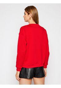 Lacoste Bluza SF6501 Czerwony Regular Fit. Kolor: czerwony