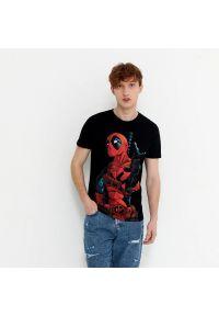 House - Koszulka z nadrukiem Deadpool - Czarny. Kolor: czarny. Wzór: nadruk
