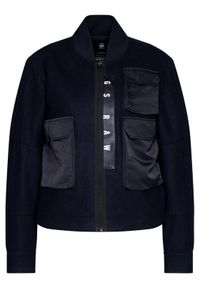 Niebieska kurtka przejściowa G-Star RAW