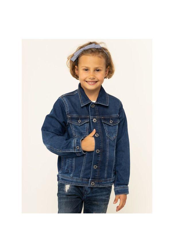 Niebieska kurtka przejściowa Pepe Jeans