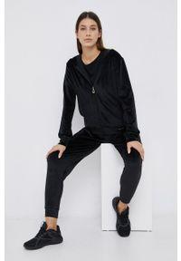Emporio Armani Underwear - Dres. Kolor: czarny. Materiał: dresówka