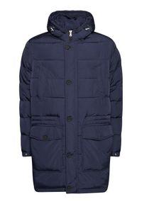 Niebieska kurtka zimowa Oscar Jacobson