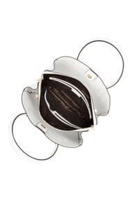 Wittchen - Kuferek skórzany trapezowy mały. Kolor: biały. Materiał: skórzane. Styl: elegancki, casual. Rodzaj torebki: na ramię #4