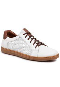 Białe sneakersy Sergio Bardi
