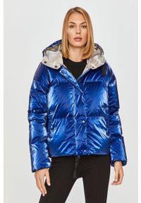 Niebieska kurtka Bomboogie z kapturem