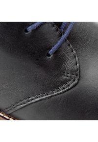 Rieker - Trzewiki RIEKER - 35330-00 Black. Kolor: czarny. Materiał: skóra. Styl: elegancki