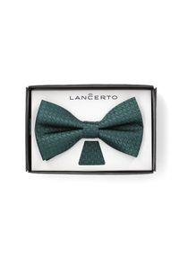 Zielona muszka Lancerto klasyczna