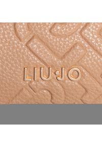 Beżowa torebka klasyczna Liu Jo klasyczna, w kolorowe wzory