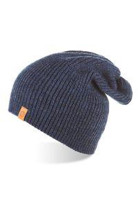 Niebieska czapka BRODRENE na jesień, elegancka