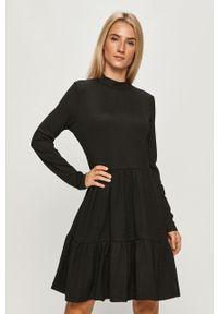 Czarna sukienka Haily's na co dzień, mini