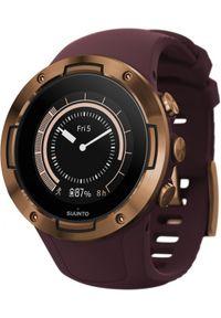 SUUNTO - Zegarek sportowy Suunto 5 Burgundy Copper. Styl: sportowy