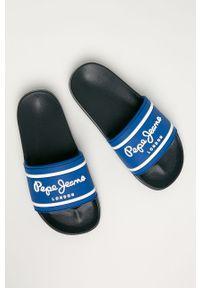 Niebieskie klapki Pepe Jeans