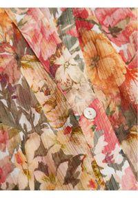 mango - Mango Koszula Pinkie 87025721 Kolorowy Relaxed Fit. Wzór: kolorowy
