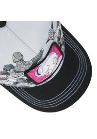 CapsLab - Czapka z daszkiem CAPSLAB - Emperor CL/DBZ4/1/ARM Szary. Kolor: szary. Materiał: materiał, bawełna, poliester