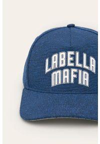 Niebieska czapka z daszkiem LABELLAMAFIA