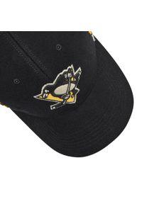 47 Brand - Czapka z daszkiem 47 BRAND - Pittsburgh Penguins H-WILIS15WMP-BK Black. Kolor: czarny. Materiał: materiał, poliester