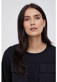 Mos Mosh - Bluza. Kolor: czarny. Materiał: bawełna, dzianina
