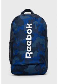 Reebok - Plecak. Kolor: niebieski. Materiał: poliester