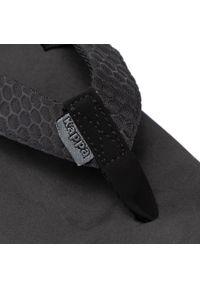 Kappa - Japonki KAPPA - Pahoa 242668 Black. Kolor: czarny. Materiał: materiał #5