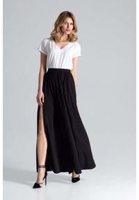 Czarna spódnica Figl długa