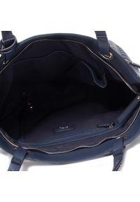 Niebieska torebka klasyczna Ara