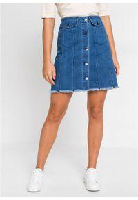 Niebieska spódnica bonprix #6