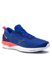 Niebieskie buty do biegania Mizuno Mizuno Wave, z cholewką