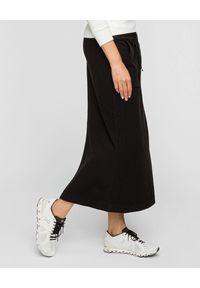 Deha - DEHA - Długa bawełniana spódnica. Okazja: na co dzień. Kolor: czarny. Materiał: bawełna. Długość: długie. Styl: casual #3