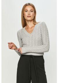 Szary sweter TALLY WEIJL na co dzień, długi
