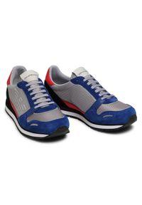 Emporio Armani Sneakersy X4X537 XM678 N641 Szary. Kolor: szary