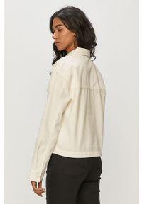 Biała kurtka Vans bez kaptura, gładkie