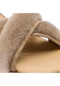 Beżowe sandały EMU Australia casualowe, na co dzień