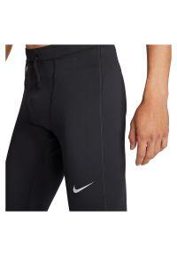 Spodnie legginsy męskie do biegania Nike Dri-FIT Challenger CZ8830. Materiał: skóra, materiał, poliester. Technologia: Dri-Fit (Nike). Sport: fitness