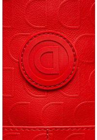 Czerwona listonoszka Desigual mała