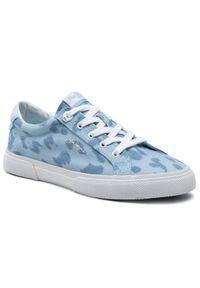 Pepe Jeans Tenisówki Kenton Ani PLS31168 Niebieski. Kolor: niebieski