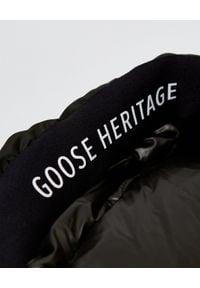 Zielony płaszcz Hetrego klasyczny, z długim rękawem
