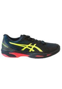 Buty tenisowe męskie Asics Gel Solution Speed FF 2 na mączkę. Materiał: kauczuk. Sport: tenis